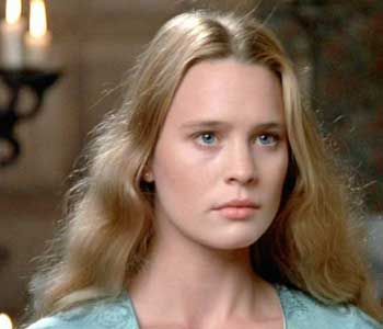 Annabelle Lawson, Jacob's wife. (Actress pic of Robin Wright as Buttercup in The Princess Bride)