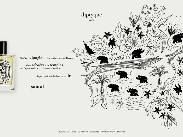 Diptyque Paris / #typography #illustration / Pierrick ...