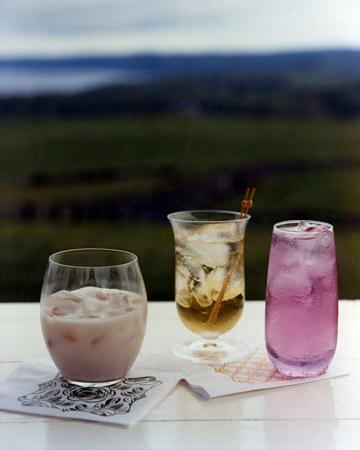 Mudslide, Tom Collins, and blackberry sour