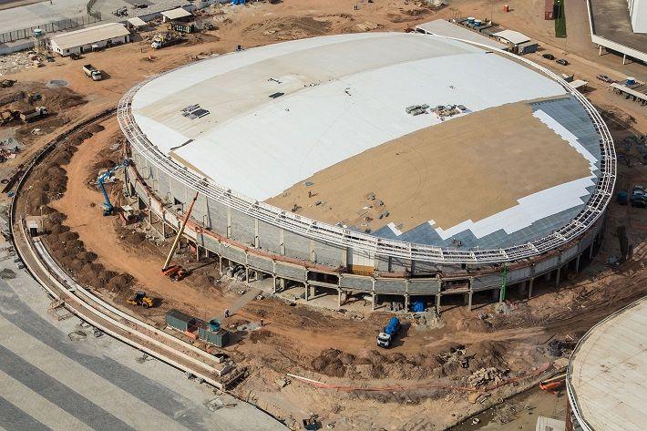 12 instalações dos Jogos Rio 2016 estão mais de 90% prontos