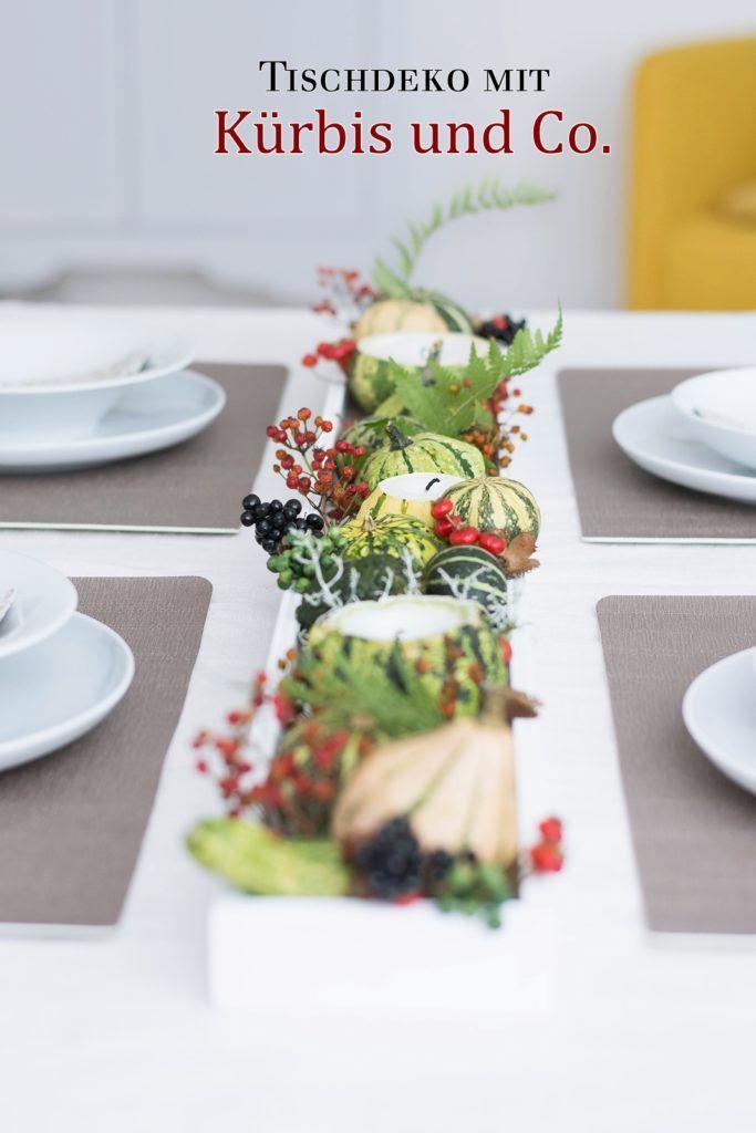 Nachmachtipp Herbstliches Tablett Mit Kurbis Kerzen Diy Crafts