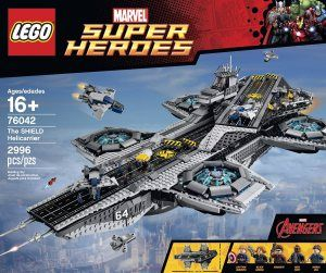 Prepare yourself for this #giant #lego. The #avengers #helicarrier from Lego is 80 centimeters, that's 31 inches!!!!!!!!!!!!!!!!!!!!!  Check it out now: http://crazygeektoys.com/lego-avengers-shield-helicarrier/  #CrazyGeekToys