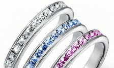$5 for an 18K Platinum Plated Stackable Infinity Ring (10 Colours to Choose From!) - Taxes Included ($ 65 Value)