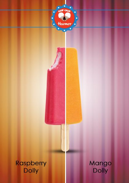 Indulge in the tantalizing flavour of Raspberry and sweetness of Mango. Keep Calm & Havmor ice cream.