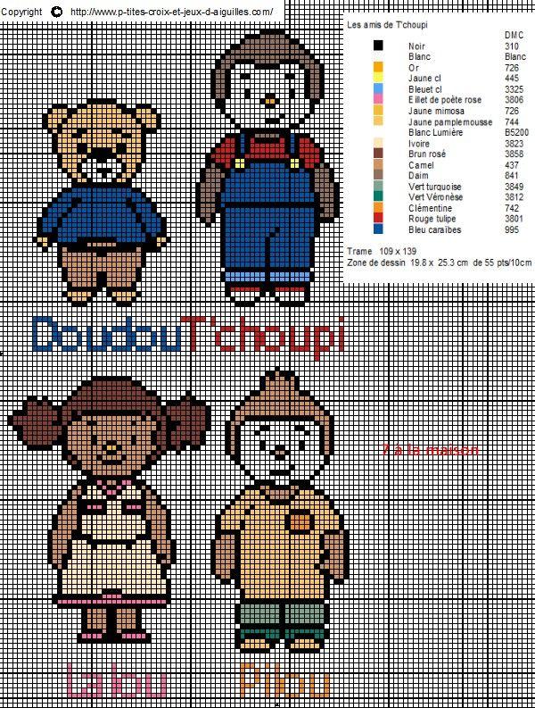 112 best images about Enfant-child-point de croix-cross stitch on Pinterest   Animaux, Playmobil ...