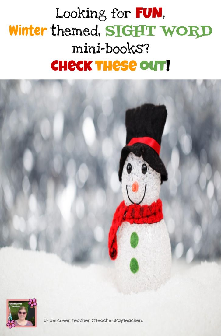 This resource contains 3 different sight word, mini-books differentiated for 4 levels (approximately Fountas and Pinnell A, B, C, and D).   The titles are:  *We Can Build a Snowman (Levels A-D) *The 100th Day (Levels A-D) *Happy New Year (Levels A-D)  *A total of 12 leveled engaging books filled with sight words and new words for Guided Reading instruction. This bundle is like getting one set of books free!