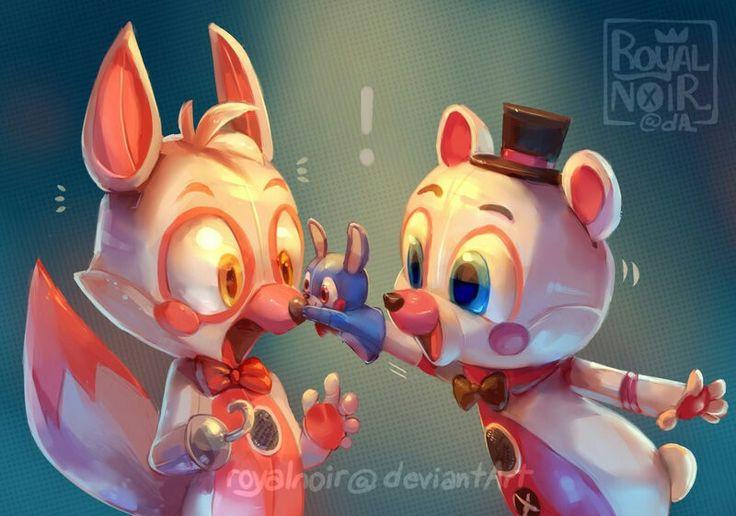 Fun Time Foxy and Fun Time Freddy- Sister Location