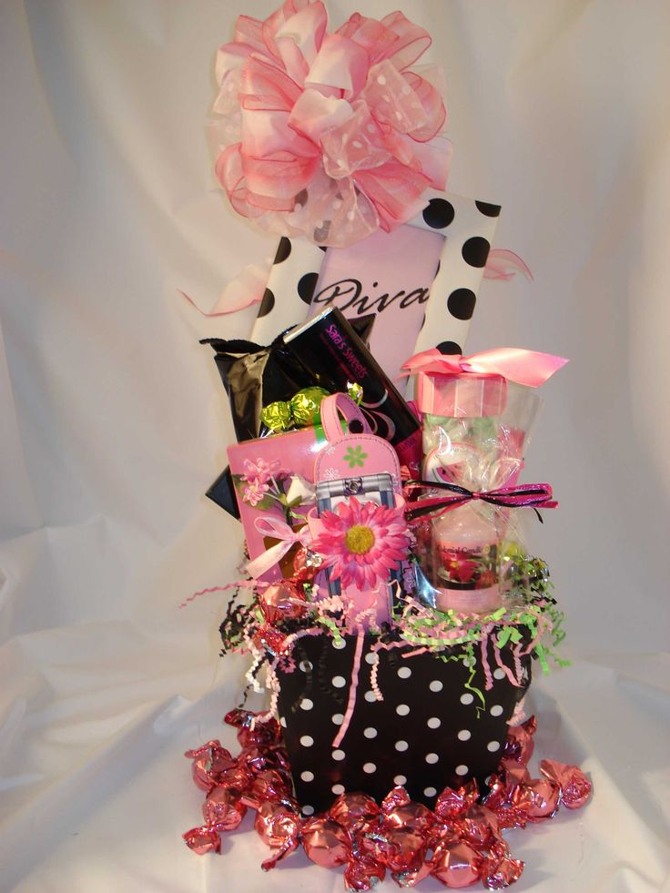 131 best gift baskets images on pinterest gift ideas original gift ideas for women gift basket ideas negle Images