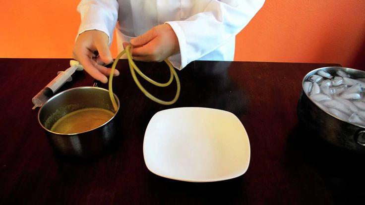 Molecular Gastronomy: Fruit Spaghetti