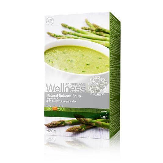 Суп «Нэчурал Баланс» обеспечит тебе вкусный обед и оптимальный заряд энергии, уменьшая чувство голода, оставит ощущение сытости, концентрированного внимания и энергии. В одной упаковке 21 порция. 100% натуральные ингредиенты. • В одной порции — всего 70 калорий! Высокое содержание клетчатки, белка и Омега-3. Без глютена, лактозы, искусственных красителей и консервантов. Удобно и быстро: готовится за 1 минуту!