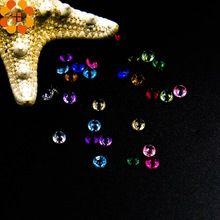 Hoge Kwaliteit! 500 Stks/partij 4.5 MM Bling Acryl Kristallen DIY Ambachten Diamond Voor Bruiloft Decoratie Evenementen Party Feestelijke Benodigdheden(China (Mainland))