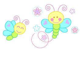 Resultado de imagen para mariposas infantiles tiernos