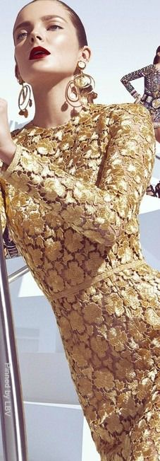 GOLD LACE...HG♥
