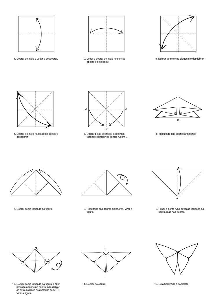 Origami - borboleta fitacola.pt