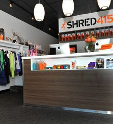 Shred 415 taught me how to be a runner