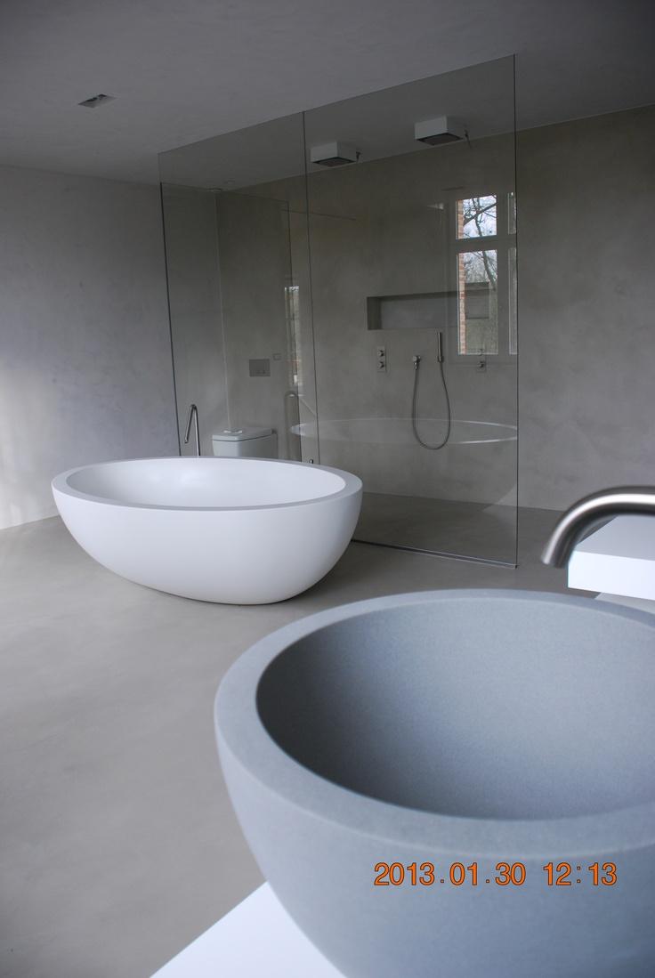 badkamer - villa Oud-Turnhout