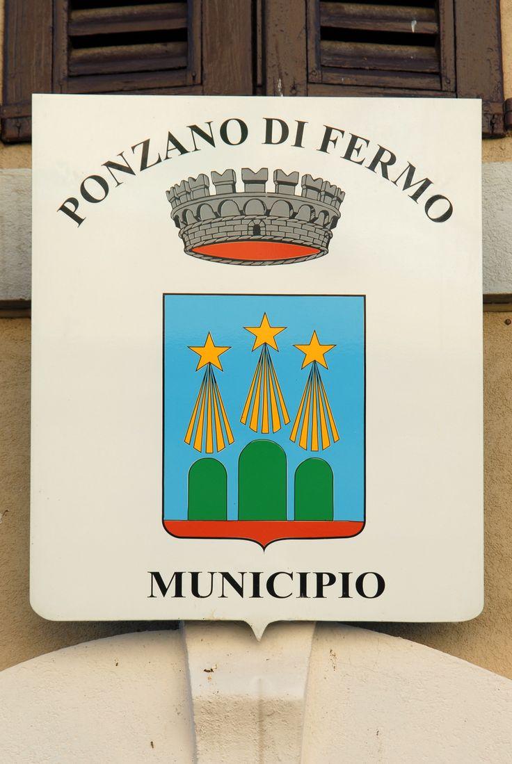 Stemma di Ponzano  #marcafermana #ponzanodifermo #fermo #marche
