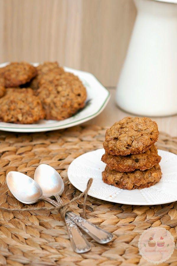 En principio estas cookies las iba a publicar la semana pasada, pero las pobres tuvieron que dejar su sitio al pan casero de Ibán Yarza que gustó tanto en facebook. Eso sí, como ya dije, iban a ser la