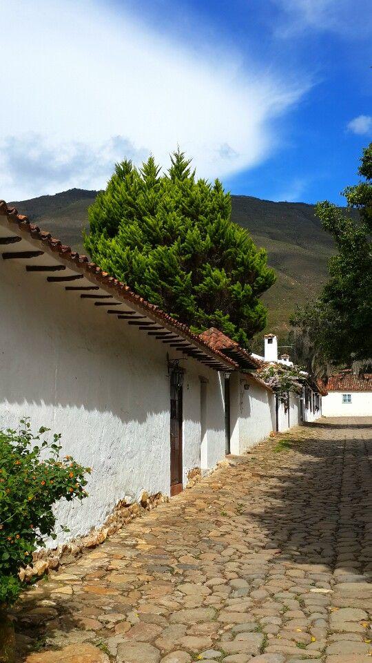 Colonial Stone Streets (Villa de Leyva, Colombia)