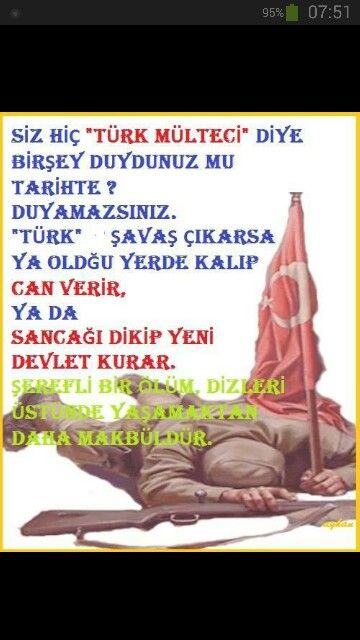 Türkler bölünmez bu vatan verilmez....