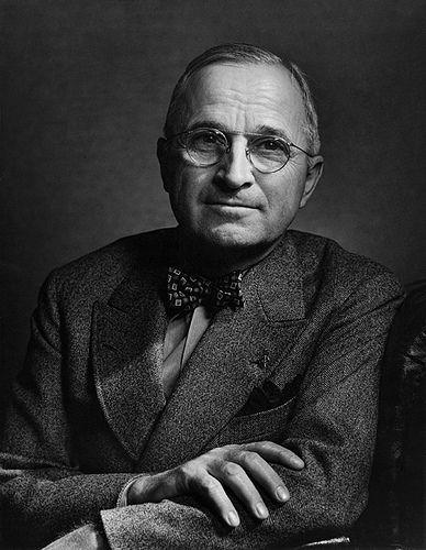 President Harry S. Truman, 1948 • Yousuf Karsh