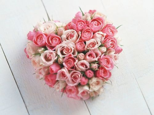 .: Valentine'S Day, Heartshap, Gifts Ideas, Heart Shape, Bouquets, Valentinesday, Pink Rose, Flowers, Valentines Day Gifts
