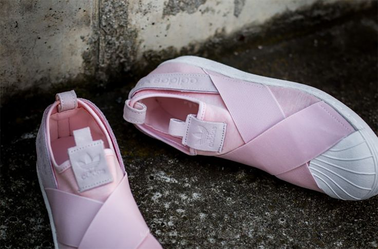 ADIDAS SUPERSTAR SLIP ON – HALF PINK / HALF PINK / FOOTWEAR WHITE