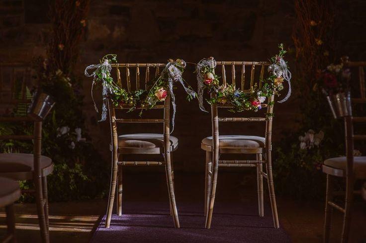 Flowers designed by Jimazen Flowers for a wedding in Ballymagarvey village, photo taken by Shane O'Neill.