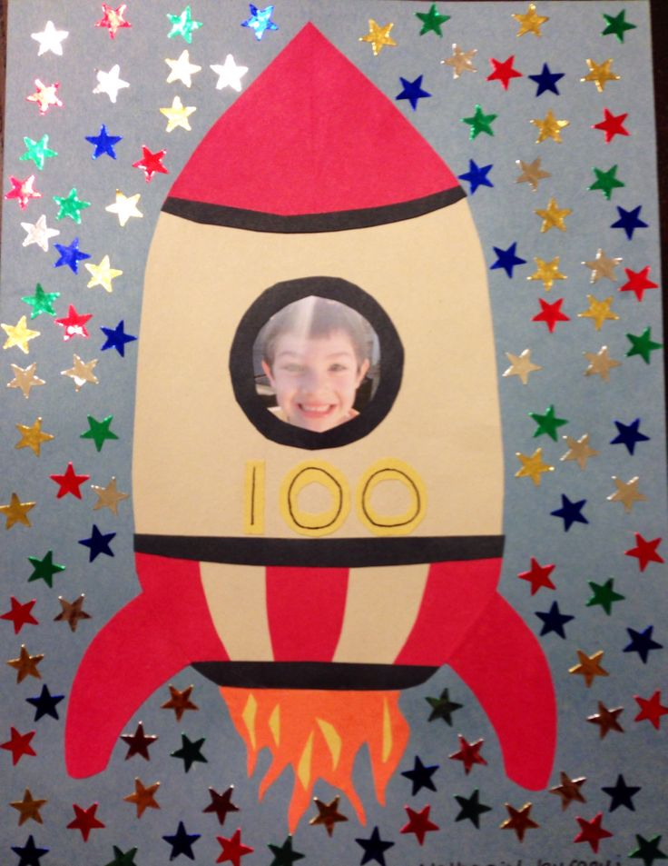 Nate's 100th day of school project :-)