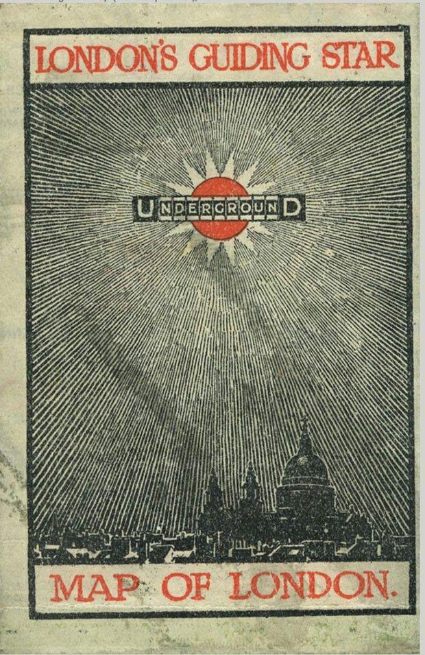 Mapa de bolso do Underground 1912 482