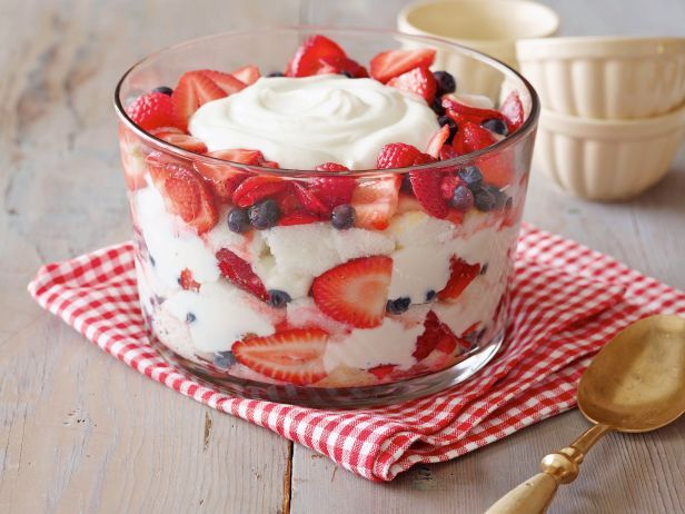 The Neely's Angel Food Cake and Berry Trifle
