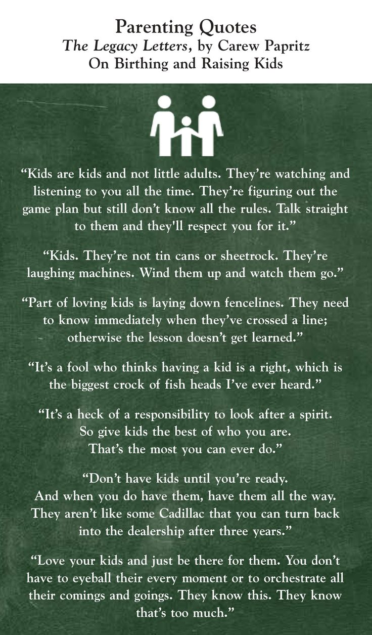 Parenting Quotes On Birthing and Raising