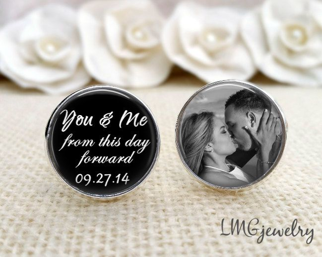 Groom Cufflink Custom Wedding From This Day Forward Cufflinks For