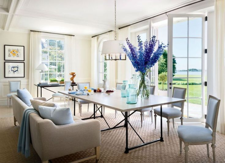 blue hues inspiration the color scheme for this fall living dining roomsliving - Dining Room Inspiration