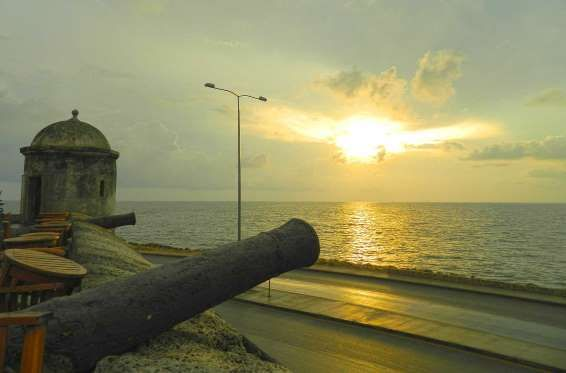Muralhas de Cartagena (Colômbia) - Foto: Ticiana Giehl e Marquinhos Pereira/Escolha Viajar