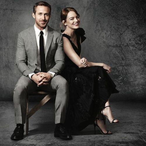 Ryan Gosling and Emma Stone by Tim Palen.