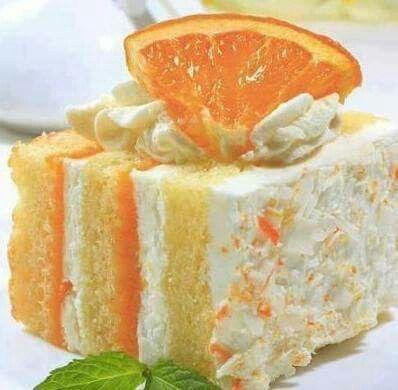 Orange Dreamsicle Cake - easy