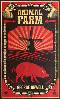 """Mr Jones of Manor Farm is so lazy and drunken that one day he forgets to feed his livestock. The ensuing rebellion under the leadership of the pigs Napoleon and Wellington leads to the animals taking over the farm. Vowing to eliminate the terrible inequities of the farmyard, the renamed Animal Farm is organized to benefit all who walk on four legs. But as time passes, the ideals of the rebellion are corrupted, then forgotten. And something new and unexpected emerges. """"Animal Farm"""" -..."""