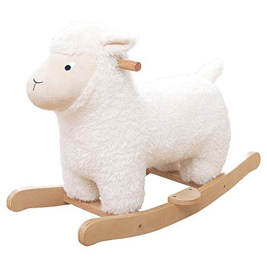 JoJo Maman Bébé - Sheep Rocker Blanc