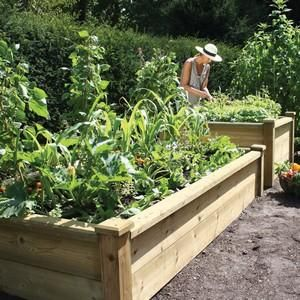 Charmant Superior Wooden Raised Bed Kits From Raised Bed Kits, Wooden, Plastic Raised  Beds   Allotment Shop