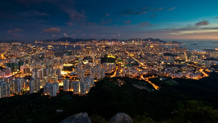 Hong Kong Cityscape Photo by CooLBieRe