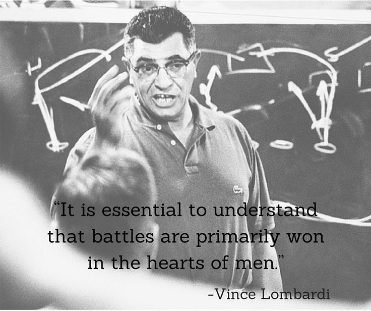 The Best Quotes from Legendary Football Coach Vincent Lombardi