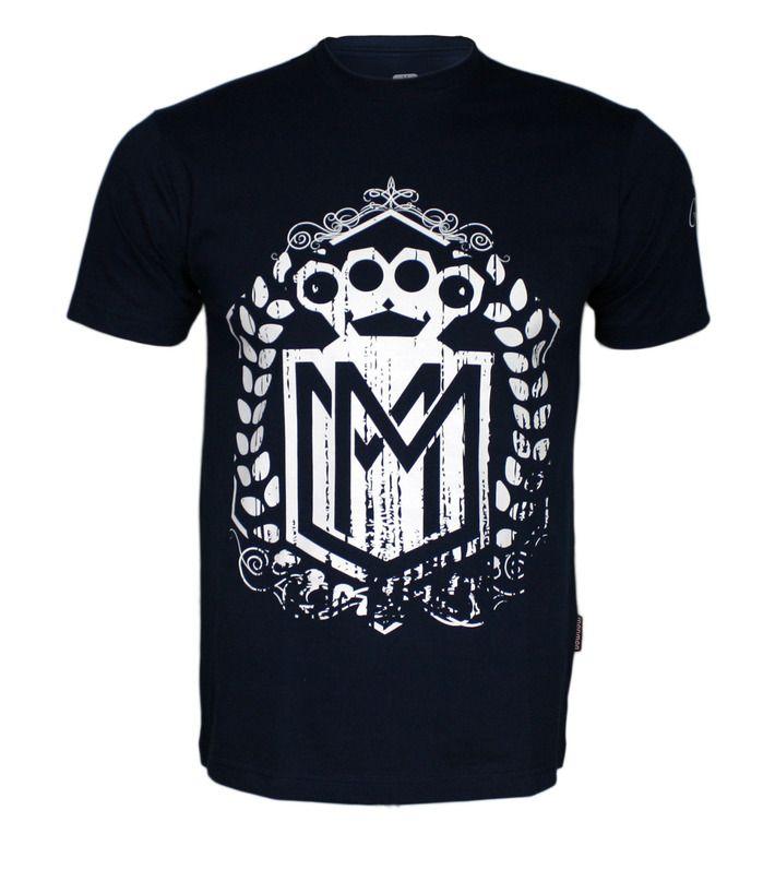 Koszulka 'Logo' granatowa - przód ---> Streetwear shop: odzież uliczna, kibicowska i patriotyczna / Przepnij Pina!