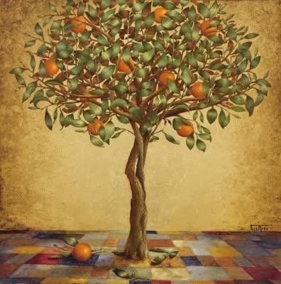 Barbara Gerodimou * Greece * www.gerodimou.com *  orange tree