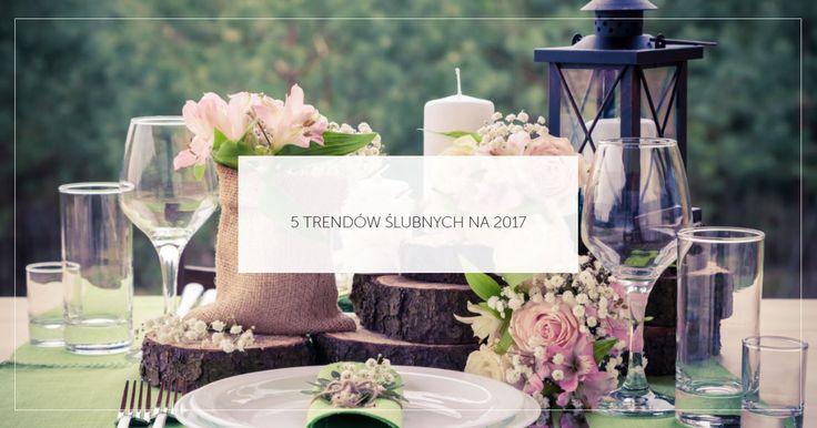 Czy wszystkie Pary Młode znają już ślubne trendy na rok 2017? Jeśli jeszcze nie, a jesteście już w trakcie organizacji uroczystości - na naszym blogu znajdziecie 5 rzeczy, na które warto zwrócić uwagę. ;) http://smartbride.pl/5-trendow-slubnych-na-2017/
