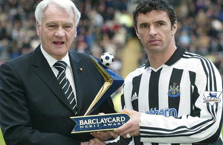 Bobby Robson & Gary Speed