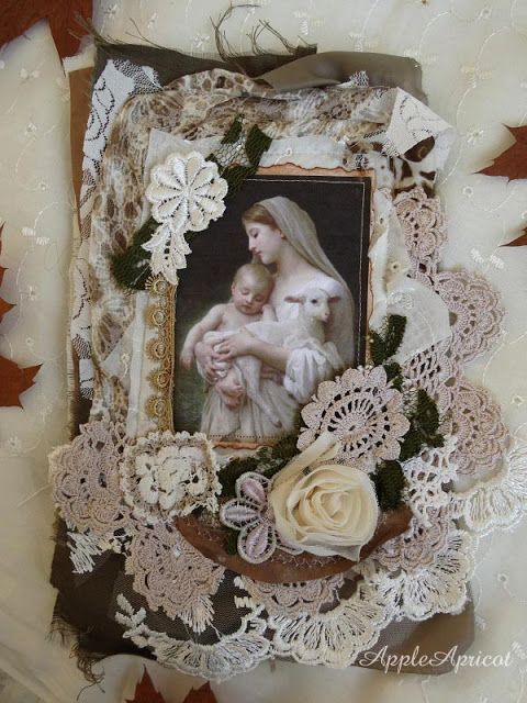 fabric book page by AppleApricot: Simply Neutrals Tuesday #8