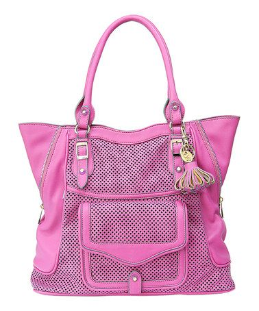Another great find on #zulily! Pink Mercer Tote by Jessica Simpson Collection #zulilyfinds #aka