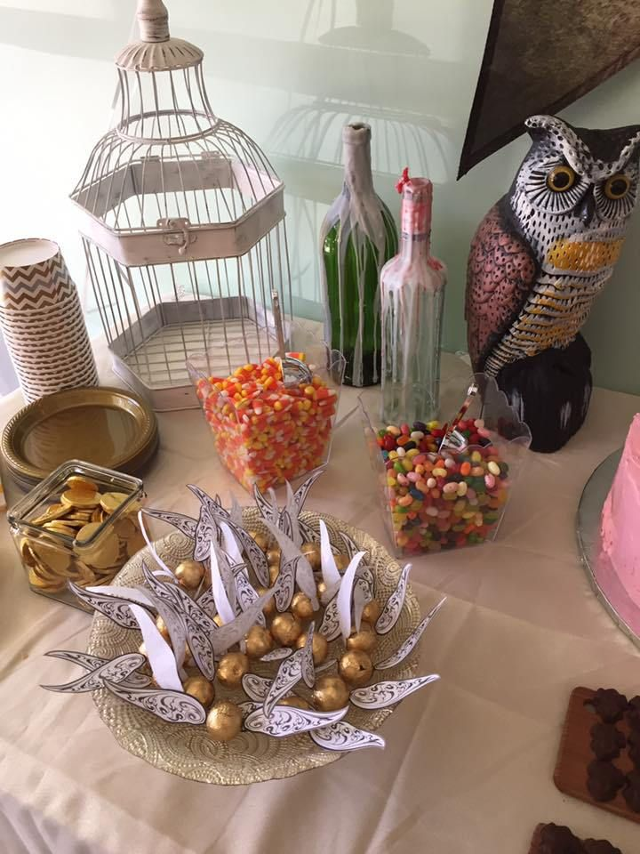 17 Harry Potter Diy Party Ideas That Are Basically Magic Katie Rosario Harry Potter Diy Harry Potter Theme Party Harry Potter Birthday Party