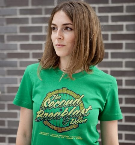 SECOND BREAKFAST DINER T-Shirt - http://www.theshirtlist.com/second-breakfast-diner-t-shirt/